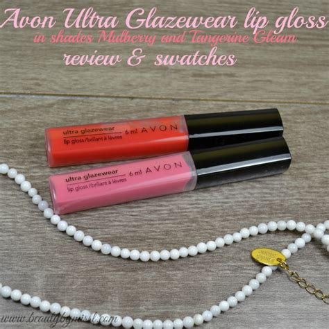 ultra glaze for hair avon ultra glazewear lip gloss review beauty by miss l
