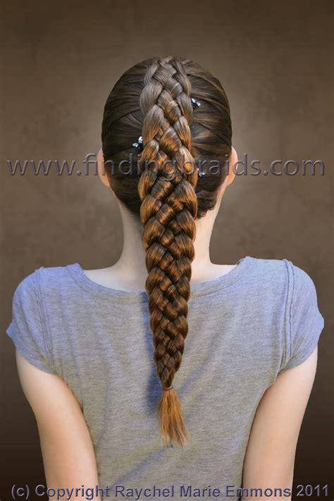 written instructions for 5 strand dutch braid five strand dutch braid empress of hair braiding