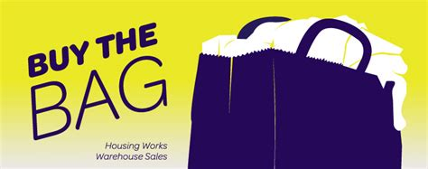 buy the bag housing works housing works announces additional buy the bag sale dates looking fly on a dime