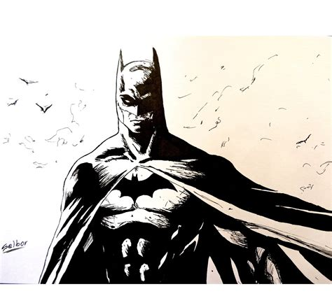 wallpaper batman blanco y negro speed drawing batman selbor youtube