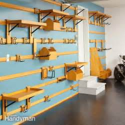 diy garage organization systems diy garage wall storage systems