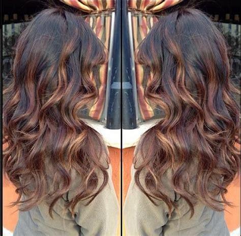 balayage highlights on dark brown hair dark brown base with balayage highlights hairstyles for
