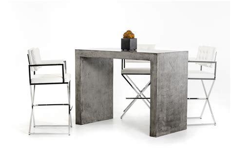 modrest mcgee modern concrete bar table bar dining