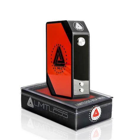 Limitless Box Mod 200w ijoy limitless 200w lmc tc box mod ijlimimod steam time de