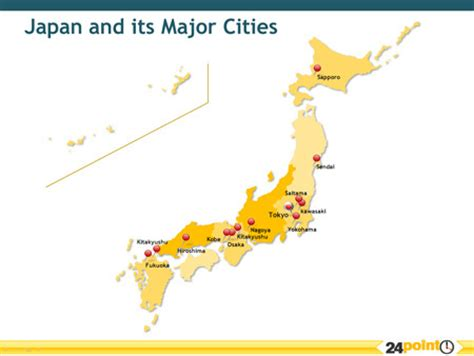 map of japan major cities japan and its major cities map of japan find more here
