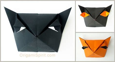 Origami Cat Box - origami cat box for tutorial