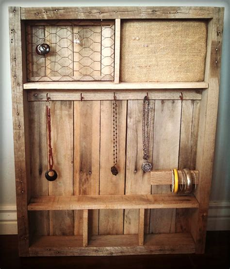 items similar to vintage pallet wood jewelry holder
