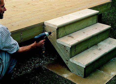 add steps railing  decking ideas advice