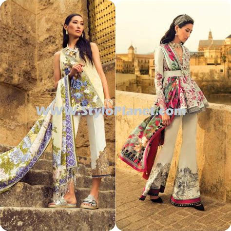 clothes design lawn latest elan spring summer lawn dresses 2017 stylo planet