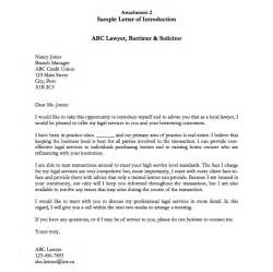 sle letter of introduction resumes design