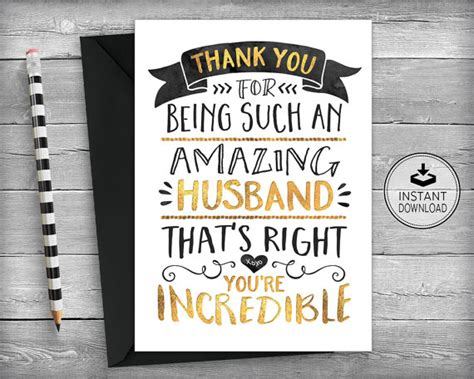free printable thank you cards for husband anniversary card happy anniversary card love card