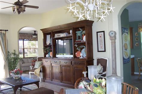 Hutch In Living Room by Oak Tv Plasma Hutch