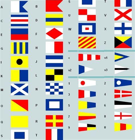 scheepvaart cijfers letterkundig varende letters seinvlaggen