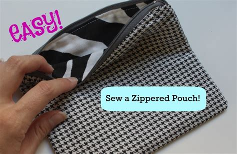 youtube zipper tutorial how to sew a basic zippered pouch youtube
