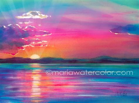 water color sunset best 25 watercolor sunset ideas on drawing