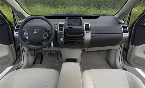 2008 Prius Interior car and driver