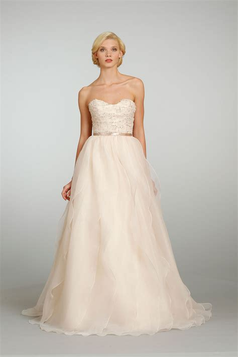 beautiful blush gowns bridal