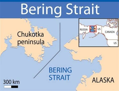 america map bering strait russian national park to bridge us russia divide