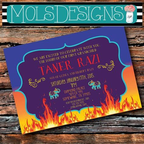 28 Best First Lohri Images On Pinterest India Fashion Indian Wear And Bonfires Lohri Invitation Templates