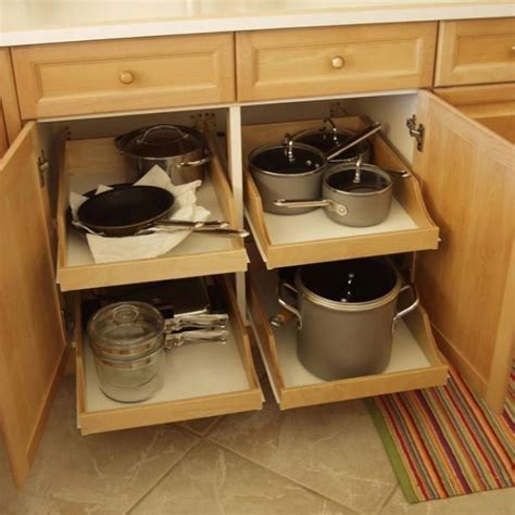 roll out shelves for kitchen cabinets kitchen cabinet organizer pull out drawers new interior