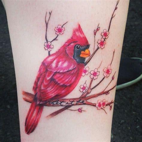 red cardinal tattoo cardinal tattoos red cardinal