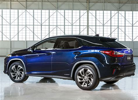 lexus cars 2016 2016 lexus rx 350 rx 450h york auto consumer