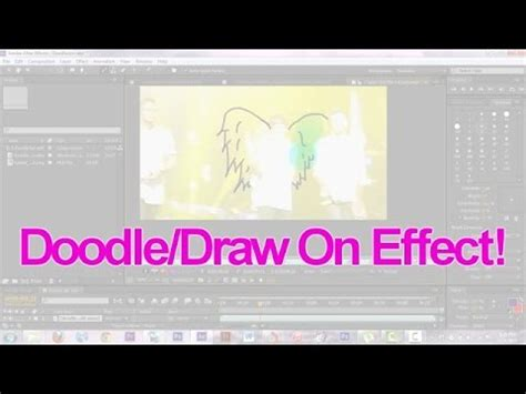 doodle effect doodle draw on effect after effects