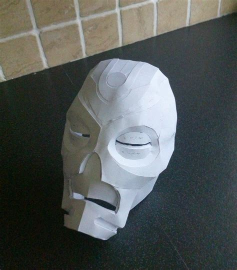 Paper Craft Masks - papercraft priest mask by phoenixdestruction on