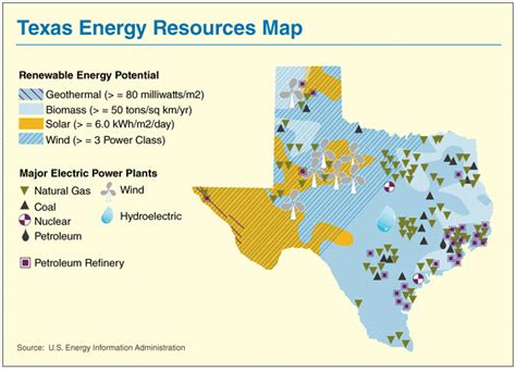 texas resource map mrcravenshis bundle 5 energy resources