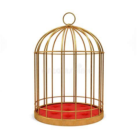 gabbia dorata gabbia dorata illustrazione di stock illustrazione di