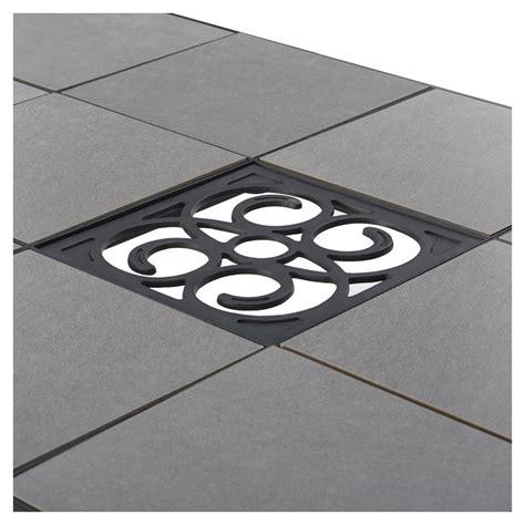 patio table tile inserts amazon com strathwood barnes umbrella base patio lawn