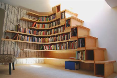 furniture cool bookshelf design inspiration for a modern dining room plus creative bookcase