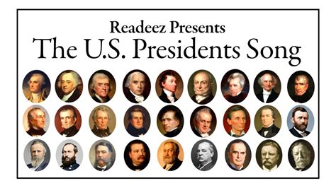 president s readeez presents the u s presidents song youtube
