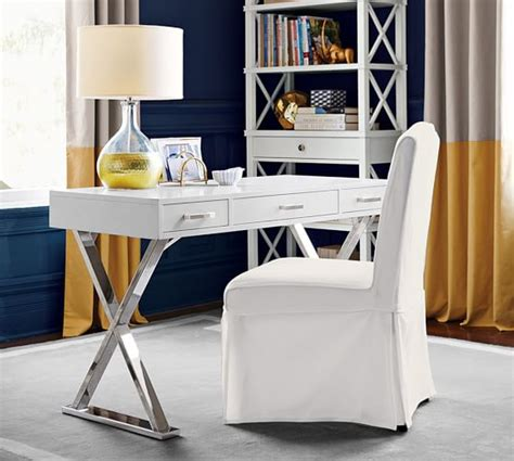 ava desk with drawers pottery barn