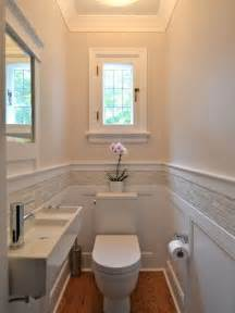 Example of a classic powder room design in ottawa with a wall mount