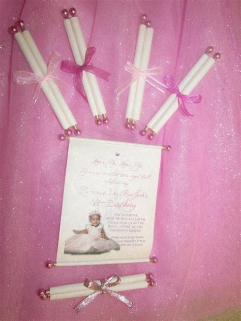 Handmade Princess Invitations - invitations princess 1st birthday