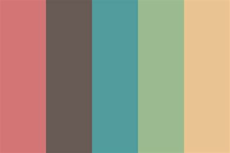color palettes old film color palette