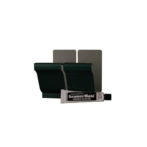 amerimax home products 5 in grecian green aluminum