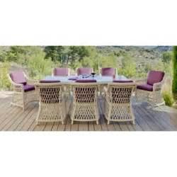salon de jardin haut de gamme resine tressee mobilier jardin haut gamme accueil design et mobilier