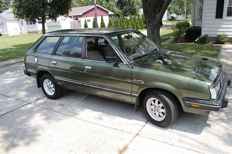 subaru gl 1983 1983 subaru gl 1800 4wd station wagon station wagon forums