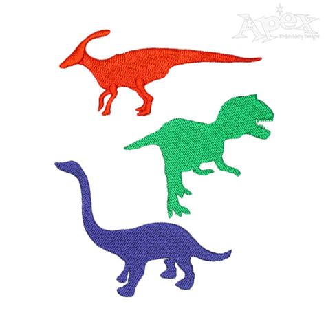 embroidery design dinosaur dino dinosaur embroidery design