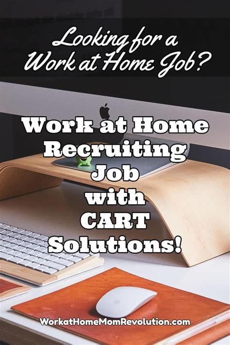work at home recruiting with cart solutions