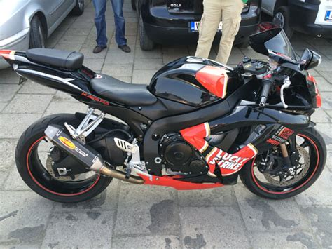 Review for Suzuki Black Lucky Strike 2006 2007 GSXR750 600