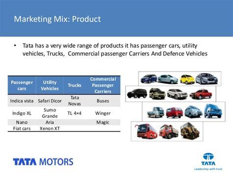 Mba Marketing In Tata Motors by Product Line Of Tata Motors Impremedia Net