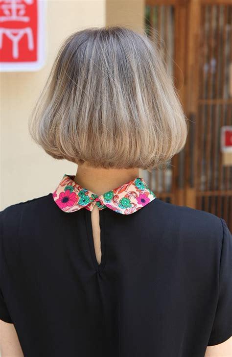 view  trendy medium length bob cut japanese