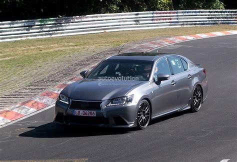 lexus trd spyshots lexus gs f performance sedan prototype features