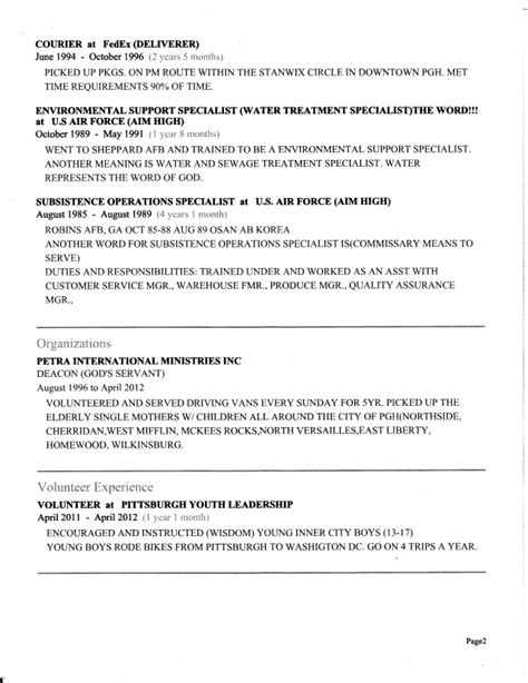 another word for duties on resume resume ideas
