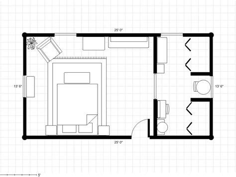 plan a room master bedroom and bath floor plans bathroom to a dressing