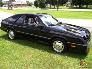 1987 dodge shelby charger glhs