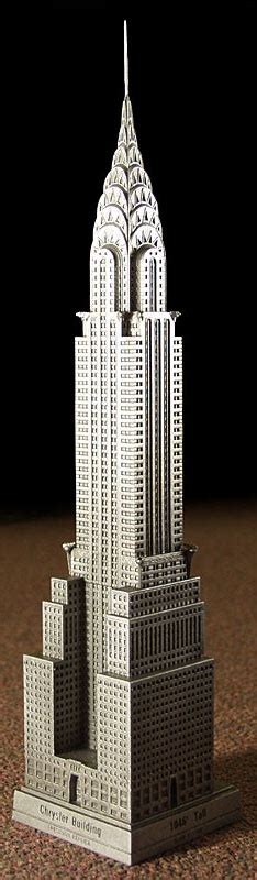 Chrysler Building Replica by Wolkenkrabber Beeldjes Skyscrapercity